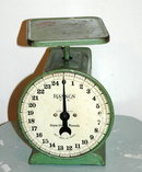 Vintage Hanson Spring Scale 24 lbs capacity