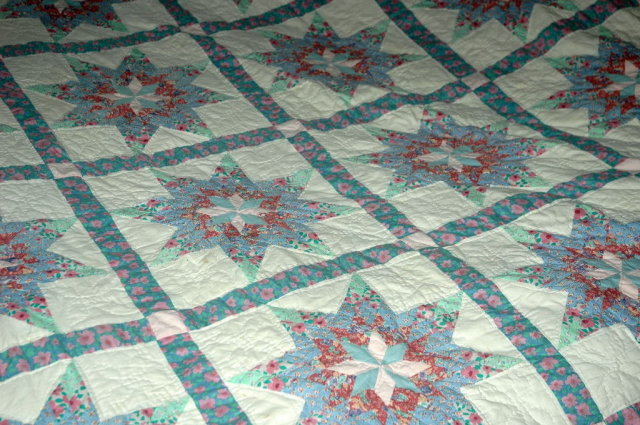Vintage Star Quilt  Arch Quilts New York  hand