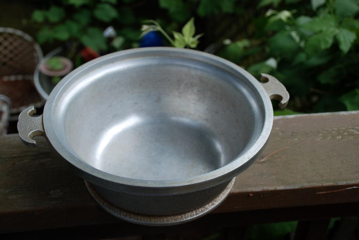 Guardian Service Ware Cookware   Roaster Aluminum Pot With Glass lid