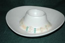 Mexican  Pottery Sombrero Hat Chip Dip Bowl