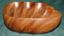 Large Hawaiian  Monkey Pod Wood Shell Bowl**PRICE REDUCTION! **