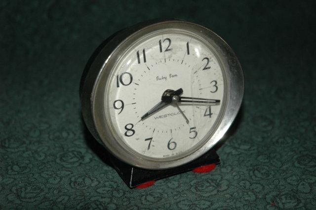 Vintage Baby Ben  Alarm by Westclox -works