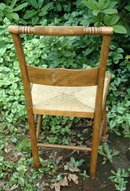 Vintage Chair with Rush Seat  **PRICE REDUCTION**!