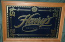 HENRY WEINHARD'S PRIVATE RESERVE Bar Mirror