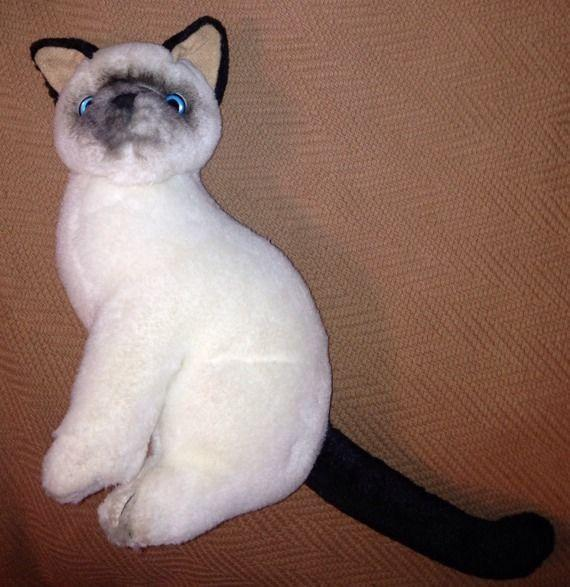 RUSS YOMIKO COLLECTION SIAMESE CAT PLUSH 10