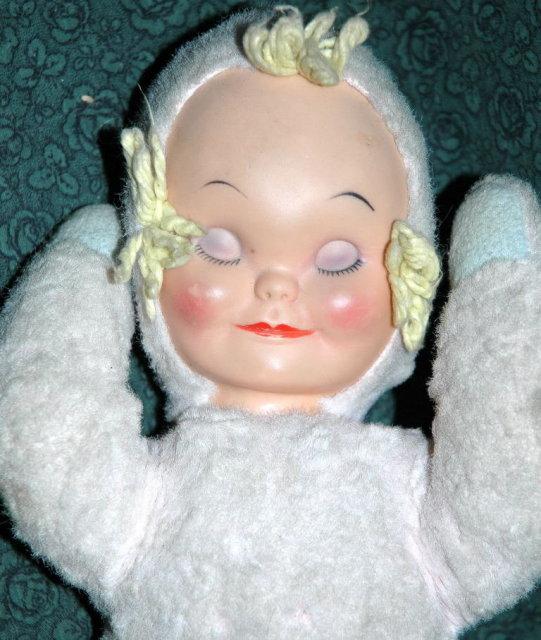 Vintage Knickerbocker Sleepy Head Baby Doll