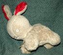 Antique Gund Wool Pile Bunny J.Swedlin Inc.-***PRICE REDUCTION!***