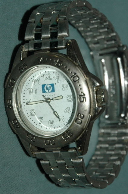 Hewlett Packard Invent Logo  Advertising  Watch
