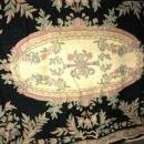 8' x 10'  Wool Carpet Chain Stitch Hand Tied Floral Rug