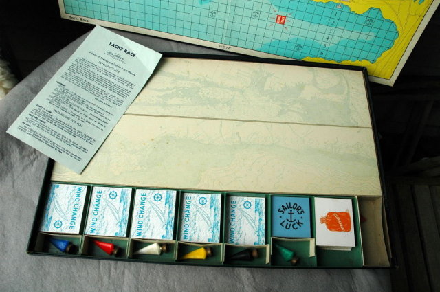 1960's Yacht Race Board Game by Parker Brothers