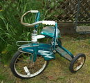 RARE Vintage Western Flyer Blue Tricycle 26.5