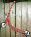 RARE Western Flyer RED SCOOTER  40'S 50'S
