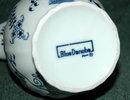 Blue Danube Onion Pattern Milk Pitcher Creamer