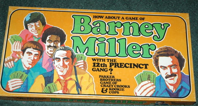 Retro Barney Miller Board Game  Parker Brothers