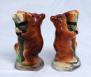 Tree hugging  Bears in chains Salt & Pepper