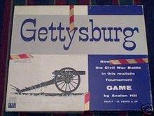 GETTYSBURG Board GAME.1958 AVALON HILL