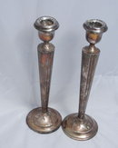 Sterling Silver Candle Sticks Pair
