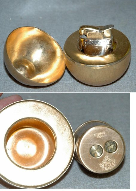 Napier Golden Apple Table Lighter with Evans mechanism