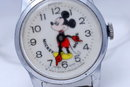 Early Bradley Mickey Mouse Swiss Watch