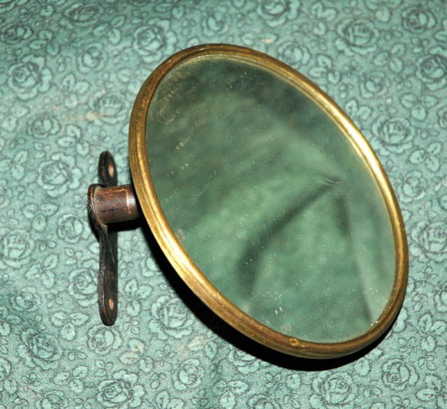 Antique Brass Auto Rearview Mirror