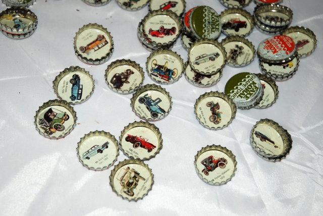 71 FAXE KORAL Denmark  Soda Cown Caps   cars