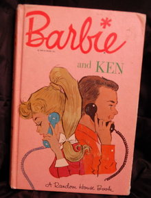 Barbie & Ken hardcover book by Random House 1963