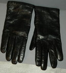 Italian Leather Cashmere Lined Gloves sz 6.5