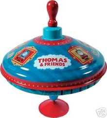 Thomas the Tank Spinning Metal Top that hums