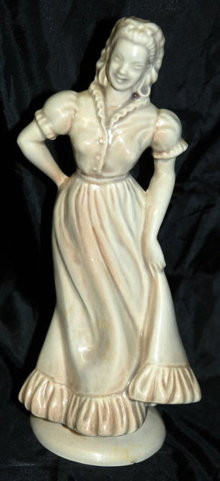 Roselane of Pasadena Cal. Woman Figurine