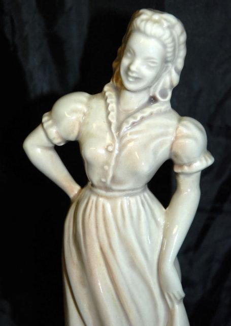 Roselane of Pasadena Cal. Woman Figurine