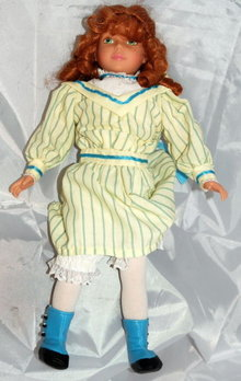 Girlhood JOURNEY Doll ERTL COLLECTIBLES