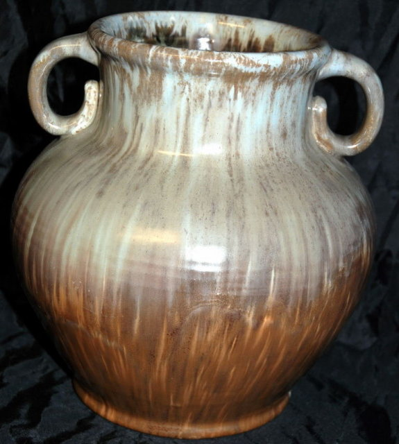 C J Denmark Pottery  Urn Vase 9