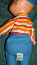 Mattel 1970's Biffy  Baby Beans Doll