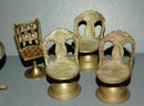 Solid Brass Fancy Doll House Furniture & etc