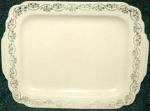 Homer Laughlin Century Bread Plate Tray Yellow *Price Reduced!*