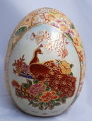 Hand Painted Chinsese Porcelain EGG *REDUCED PRICE*