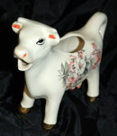 Vintage Hand Painted Ceramic Cow Creamer