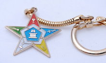 Vintage Eastern Star Key Chain