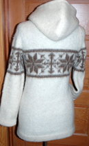 Hilda Icelandic Sweater Pullover Hoodie Small