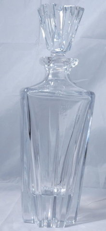 Heavy signed Lenox crystal decanter