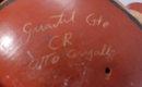 Signed Costa Rica Chorotega Guaitil Pottery , reclining  vase * PRICE REDUCTION!*
