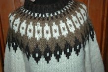 Viking  Icelandic Wool Pullover Sweater