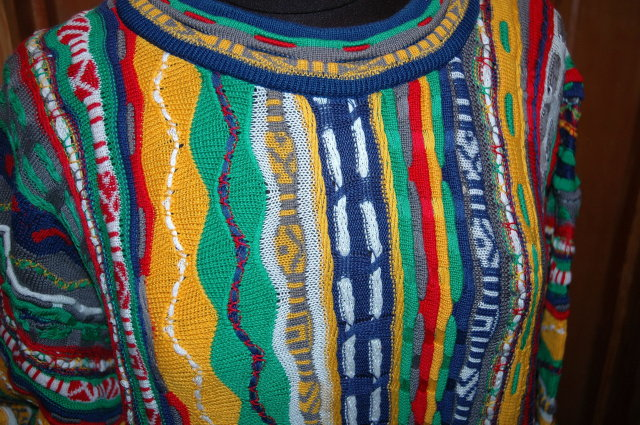 Coogi  of Australia Cotton Sweater   size 20 Large- xl