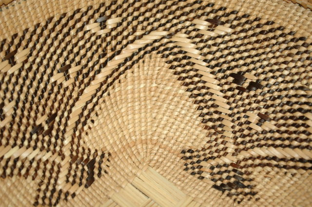 Finely woven vintage  Sangwe Reed basket *Price Reduced!*