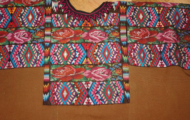 Guatemala Mayan Huipil from Chichicastenango