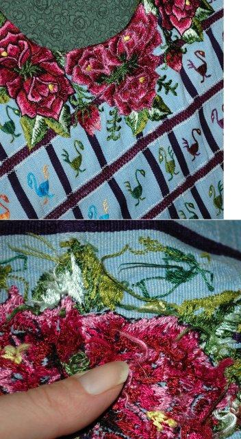 Huipil of Santiago Atitlán Guatemala 200 birds!   *** PRICE REDUCED!***