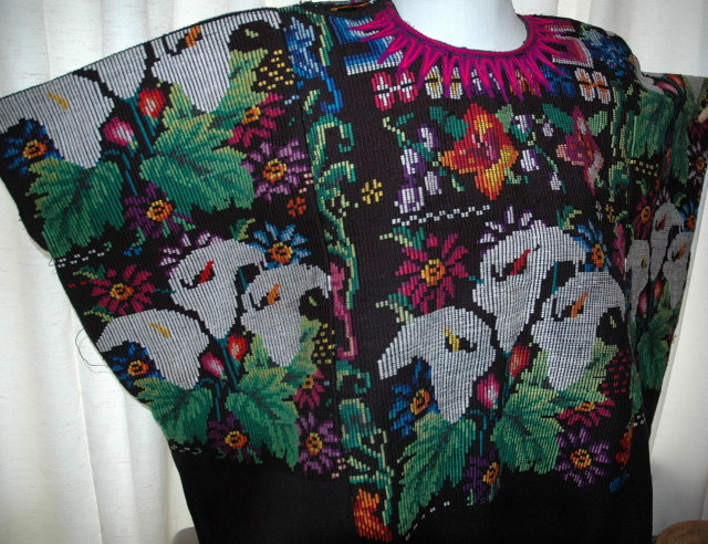 Guatemala Mayan Huipil  Vintage