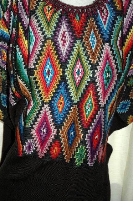 Huipil of Chichicastenango.Guatemalan Huipil-