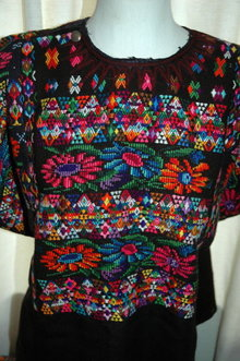 Huipil from Chichicastenango. Guatemalan Mayan Huipil -