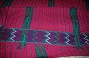 Guatemala Hand Loomed Textile Bedspread   56